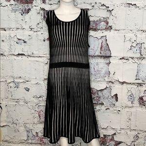 NWOT Calvin Klein black sweater dress